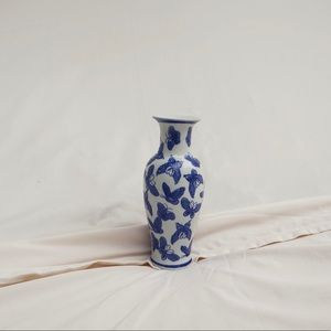 Antique Chinese Butterfly Vase